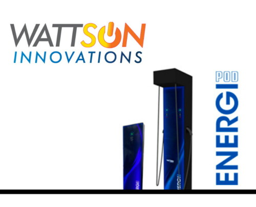 EnergiPod Chargers by Wattsun Innovations